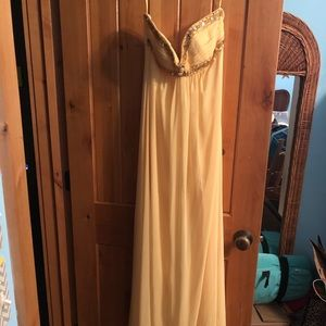 Cache yellow forma dress